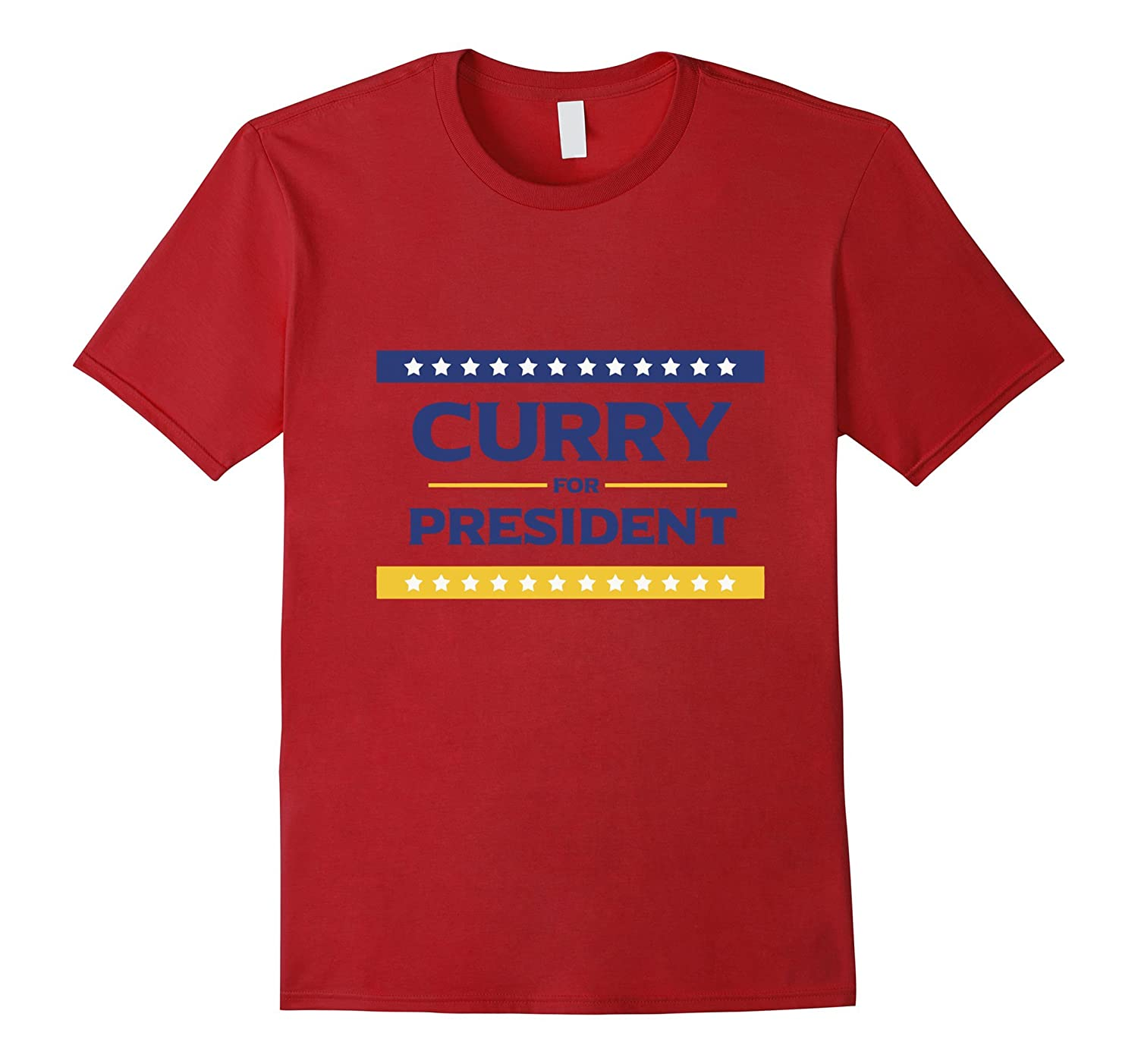 Curry for President T Shirt-CL