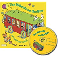 The Wheels on the Bus go Round and Round (Classic Books with Holes 8x8 with CD)