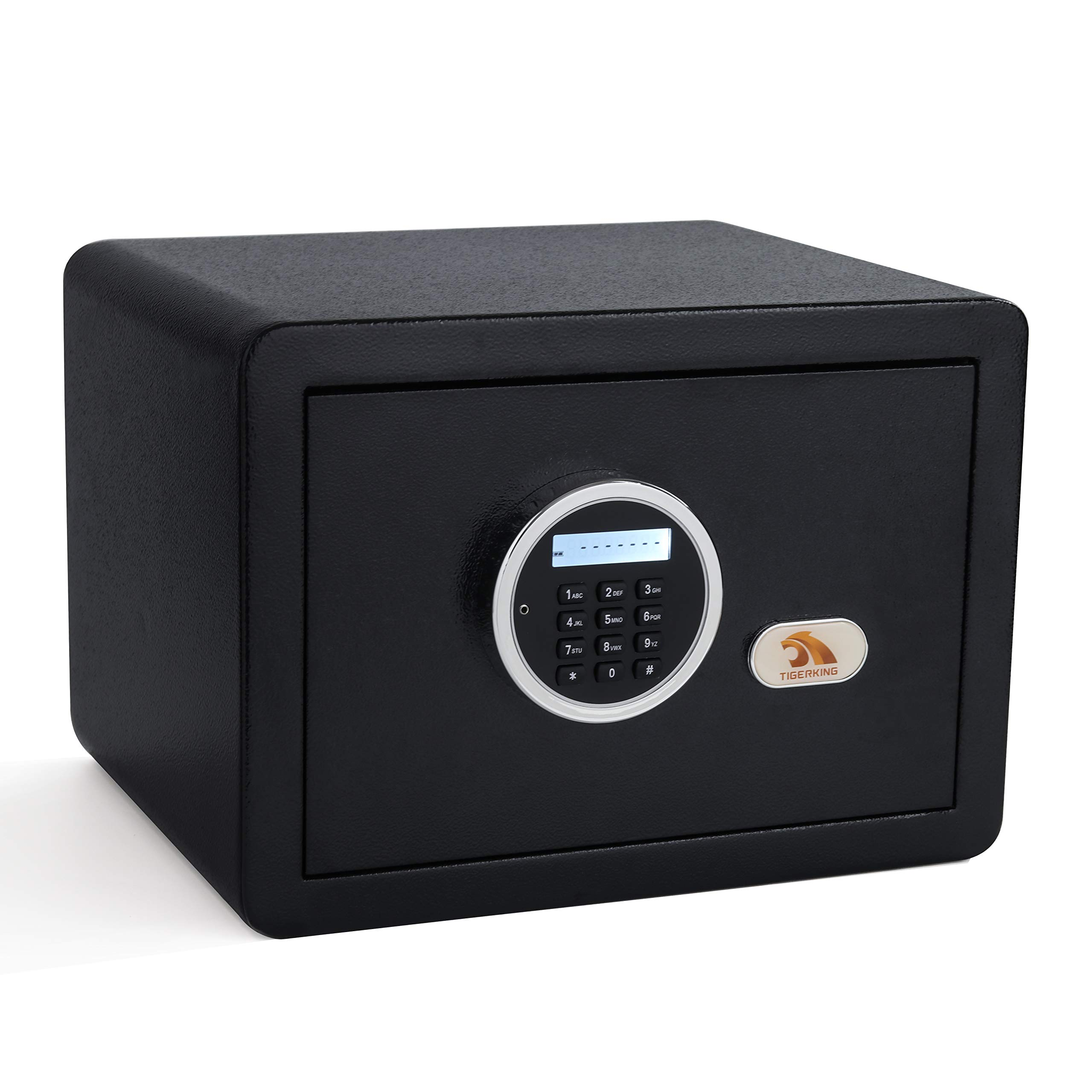 Digital Security Safe Box Fashion Black by TIGERKING