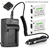 Kastar Battery (2-Pack) and Charger Kit for Canon NB-11L, CB-2LD, CB-2LF work with Canon PowerShot A2300 IS, A2400 IS, A2500, A2600, A3400 IS, A3500 IS, A4000 IS, ELPH 110 HS, ELPH 115 HS, ELPH 130 HS, ELPH 135 HS, ELPH 140 HS, ELPH 150 HS, ELPH 320 HS, ELPH 340 HS, IXUS 132, IXUS 140, IXUS 145, IXUS 150, IXUS 155, IXUS 265 HS, SX400 IS Cameras
