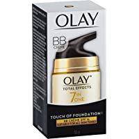 Olay Total Effects Touch of Foundation Face Cream Moisturiser SPF 15, 50g