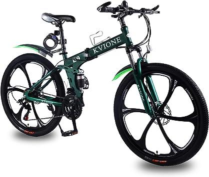 KVIONE E9 26 Pulgadas Bicicleta de montaña Hombres Bicicleta ...