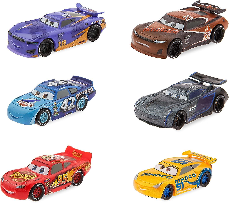 Set de juego de figuras de Disney Pixar Cars 3: Amazon.es: Juguetes y juegos