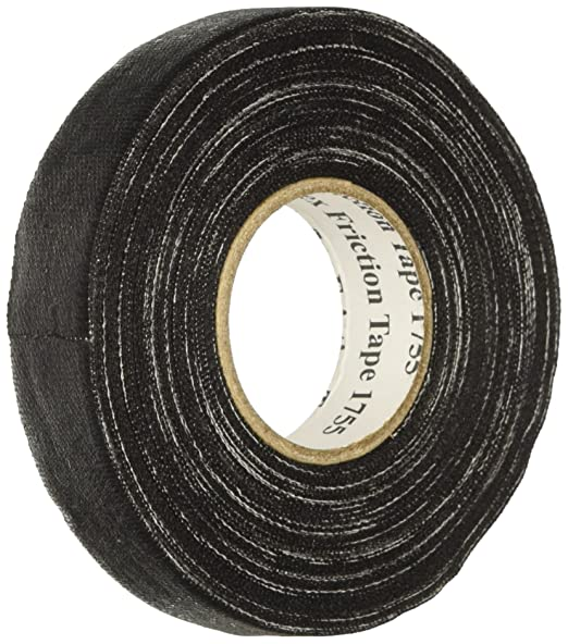 81HuTTf6yGL._SX522_ amazon com 3m 80611604283 temflex cotton friction tape, 1755, 3 4 3m harness tape at eliteediting.co