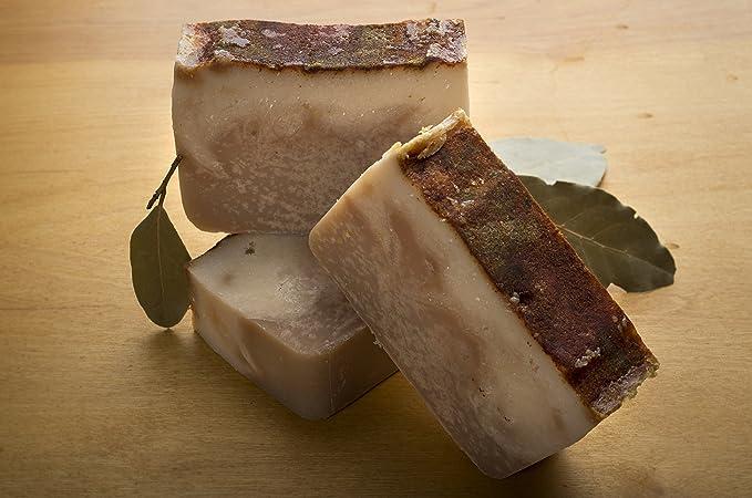 ... de jabón de malagueta elaborado con cerveza (4 Oz) - Artesanal y orgánico con aceites esenciales. Jabón corporal natural también utilizable como champú.