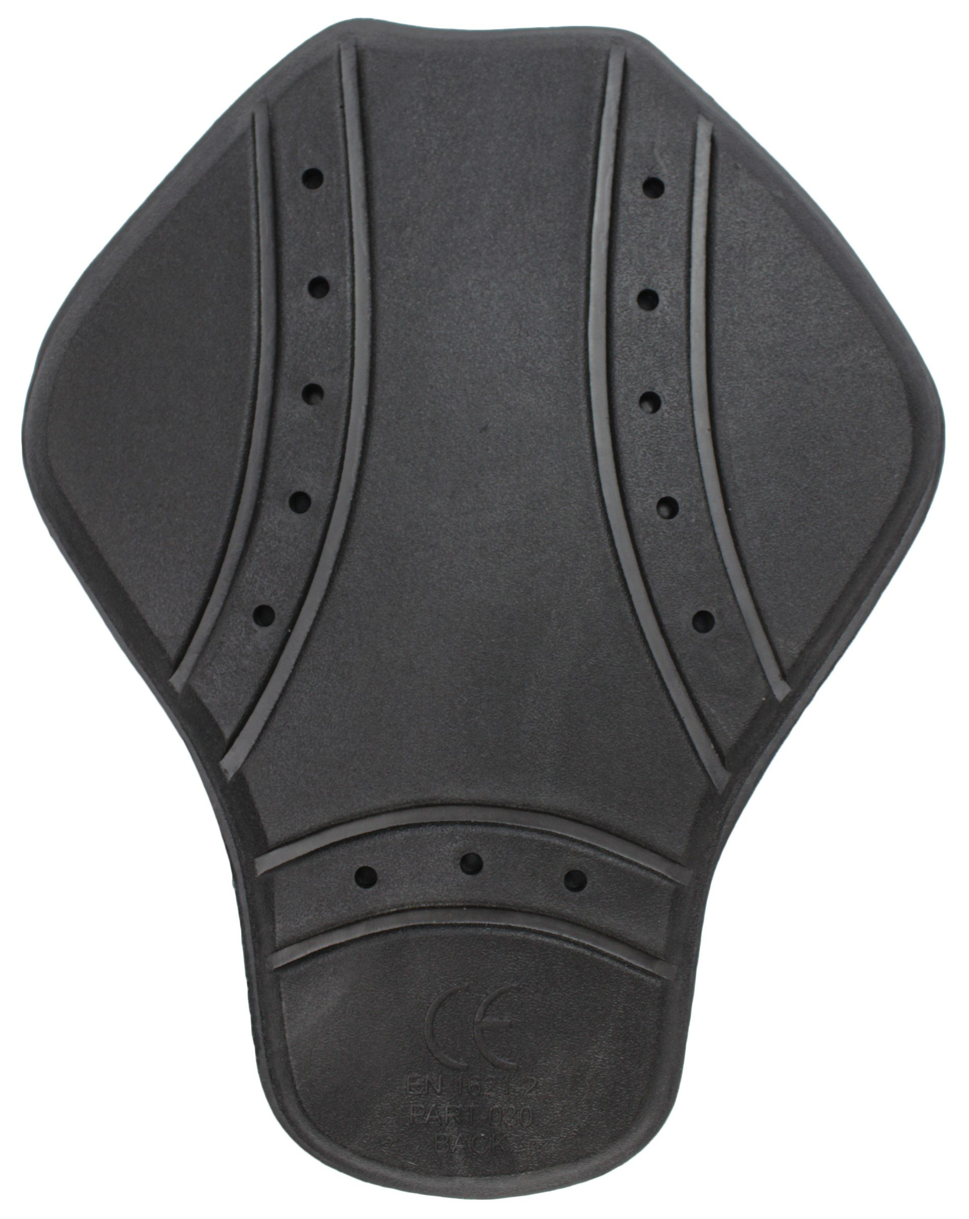 Pilot Core Motorcycle T2 Back Pad (Black, One Size)