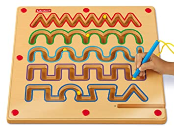 Amazoncom Lakeshore Pre Writing Magnetic Board Toys Games