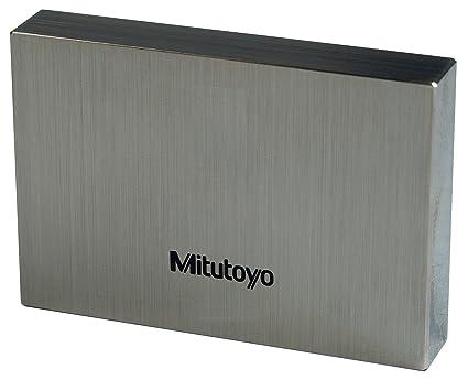 ASME Grade 00 Mitutoyo Steel Rectangular Gage Block 0.111 Length