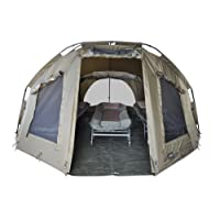 "MK-Angelsport ""5 Seasons Dome 3,5 Mann deluxe"" Zelt Karpfenzelt Angelzelt"