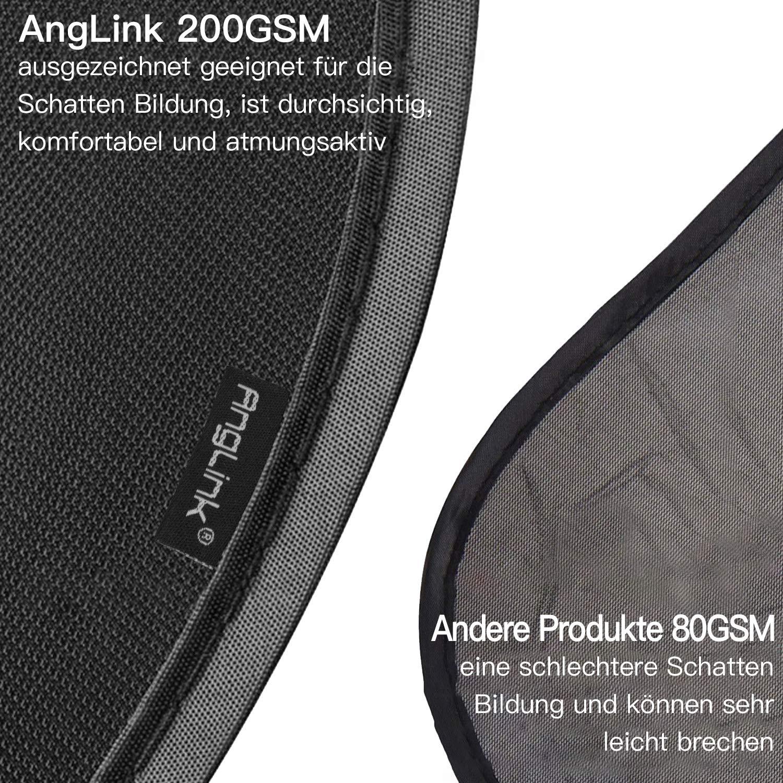 EGOMAXX Pantalones de Hombre Recubiertos de algod/ón Encerado Negro