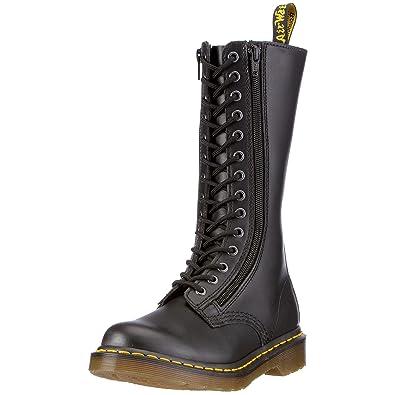 fc4eb27fcb878b Dr Martens 9733 W Illusion, Boots femme - Noir (Black Illusion), 43 ...
