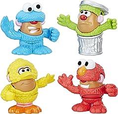 Potato Head Playskool Friends Mr Sesame Street Spuds Mini Container