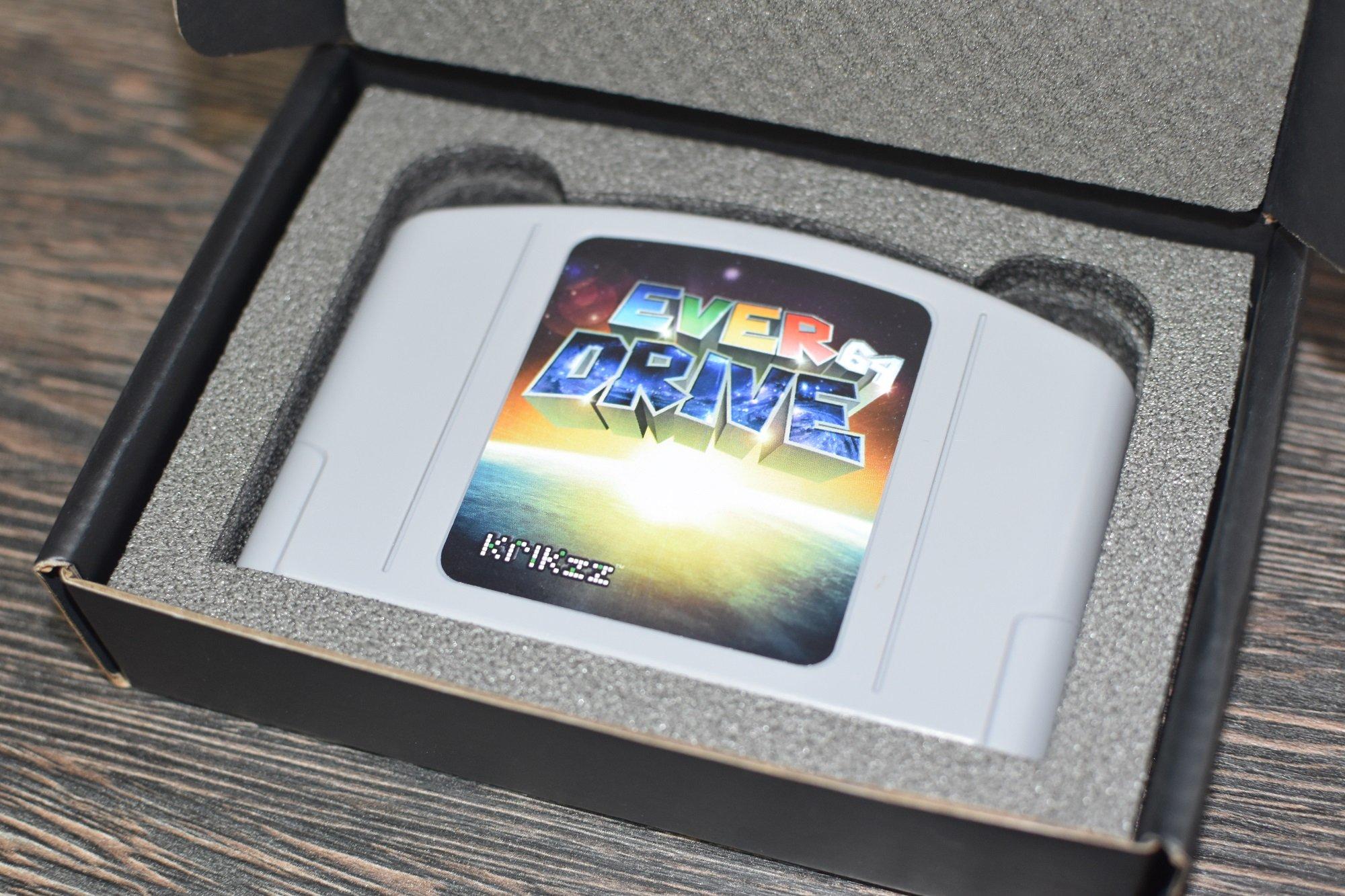 EverDrive 64 v2 5 < Nintendo 64 < Video Games - TIBS