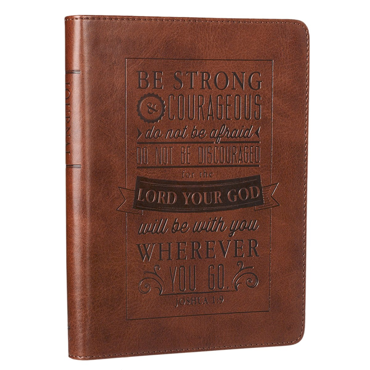 Strong Courageous Brown Flexcover Journal product image
