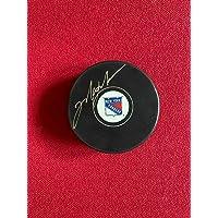 "$198 » Mark Messier,""Autographed"" (JSA) New York Rangers Hockey Puck (Scarce/Vintage) - Autographed NHL Pucks"