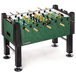 Carrom Signature 55 in. Foosball Table in aegean green