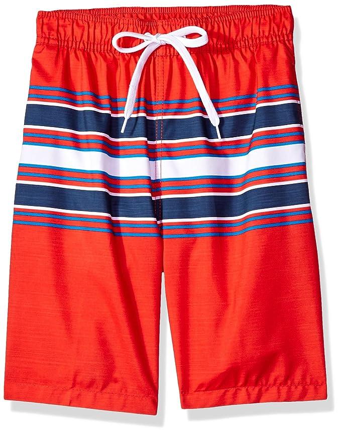 18c5714217 Kanu Surf Boys Archer Stripe Quick Dry Beach Board Shorts Swim Trunk Swim  Trunks: Amazon.ca: Clothing & Accessories
