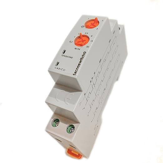 2 opinioni per Temporizzatore elettronico luce scale- TS201DI TECNOSWITCH