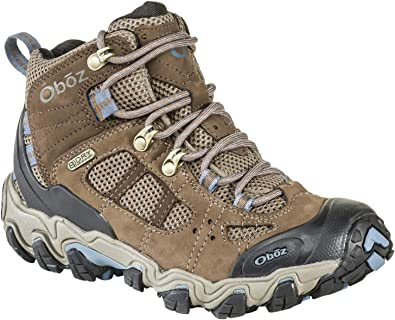 Oboz Women's Bridger Vent Mid B-Dry Waterproof Hiking Boot
