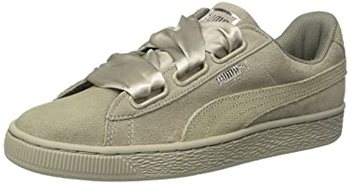 4a82bd6c4437 PUMA Women s Suede Heart Pebble WN s Trainers