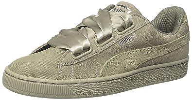 a098e366 Amazon.com | PUMA Women's Suede Heart Pebble WN's Trainers | Shoes