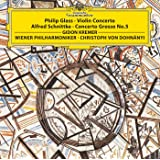 Philip Glass: Violin Concerto No. 1 Alfred Schnittke: Concerto Grosso [LP]
