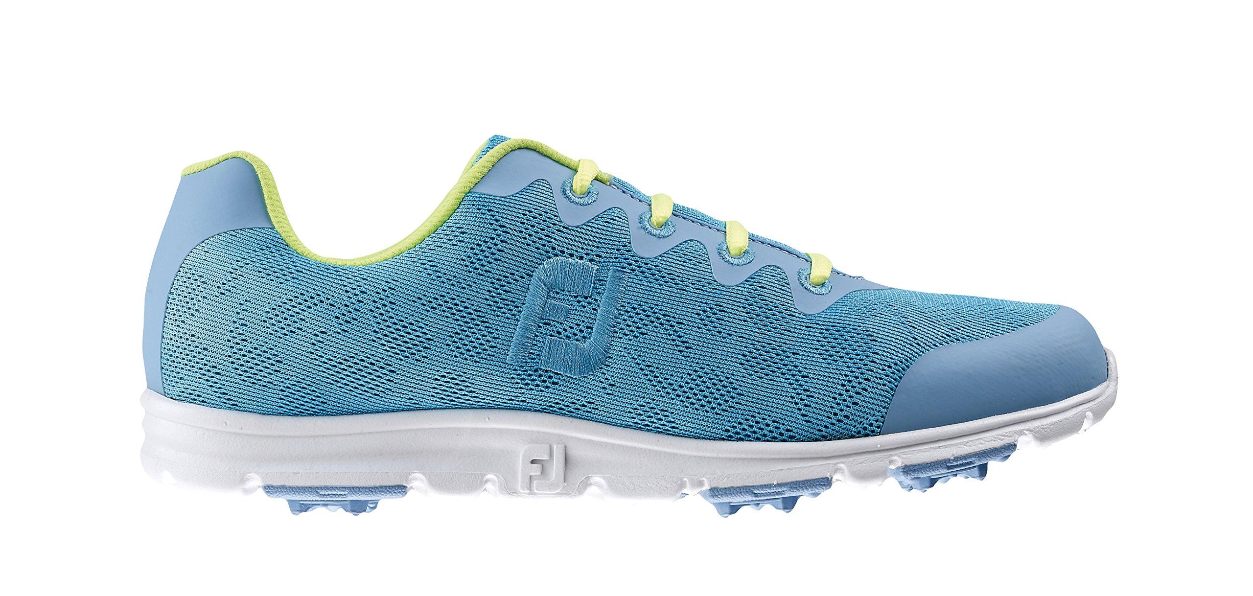 FootJoy Enjoy Spikeless Golf Shoes CLOSEOUT Women Pool Blue Medium 6