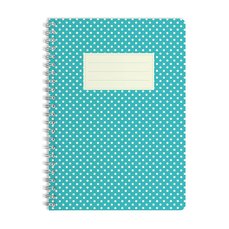 WIREBOOKS Bloc de Notas Cuaderno 5036 DIN A5 120 p/áginas 100g Papel Blanco