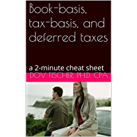 Book-basis, tax-basis, and deferred taxes: a 2-minute cheat sheet