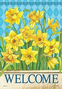 Carson Home Accents 49496 Classic Garden Flag, Multicolored