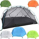 Hyke & Byke Zion 2 Person Backpacking Tent with Footprint - Lightweight Two Door Ultralight Dome Camping Tent