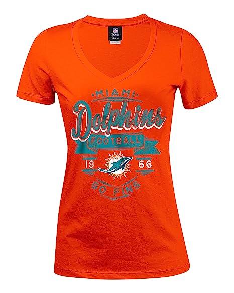 best website 8466e 6bc05 Amazon.com : A-Team Apparel NFL Miami Dolphins Women's Baby ...