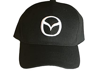 Amazon.com  Mazda Baseball Cap Hat. Black with 3D Logo. Adjustable. New!   Everything Else da3bbf9d390