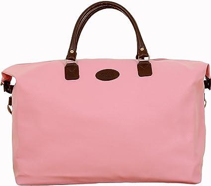 Overnight Bag - Pink: Amazon.co.uk: Clothing