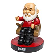 BigMouth Inc Officially Licensed Star Trek Picard Garden Gnome Statue, Funny Lawn Gnome Statue,