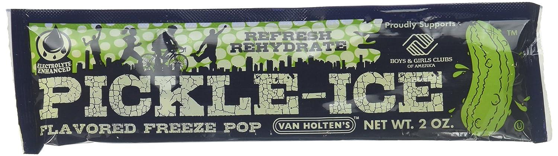 Van Holten's - Pickle Ice Freeze Pops - 48 Pack Van Holten' s