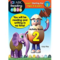 ABC Reading Eggs Level 1 Starting Out Activity Book 2 Ages 4-6