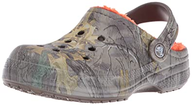 d0565582461fa1 crocs Winter Realtree Xtra Clog (Toddler Little Kid)