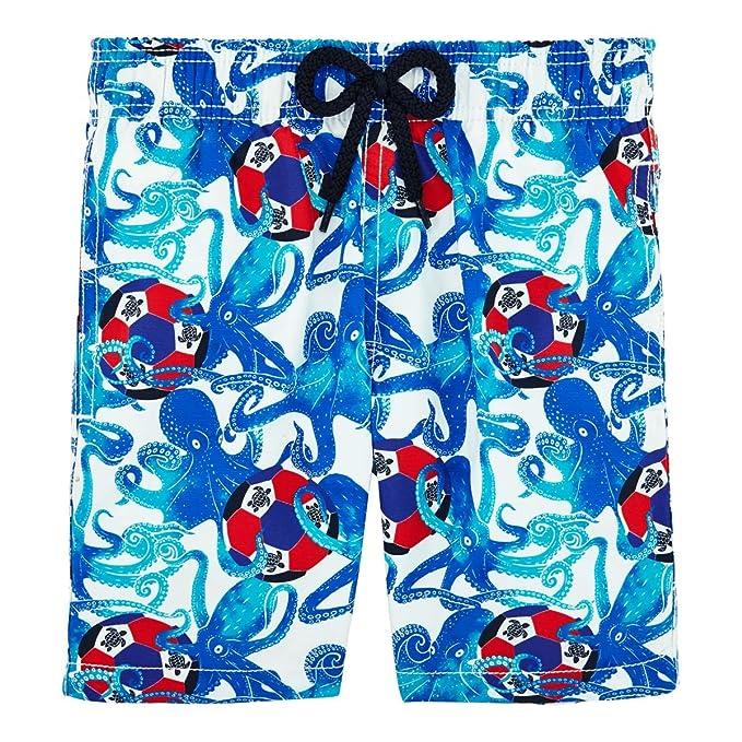 Boys Swimwear Mosaic Turtles Vilebrequin