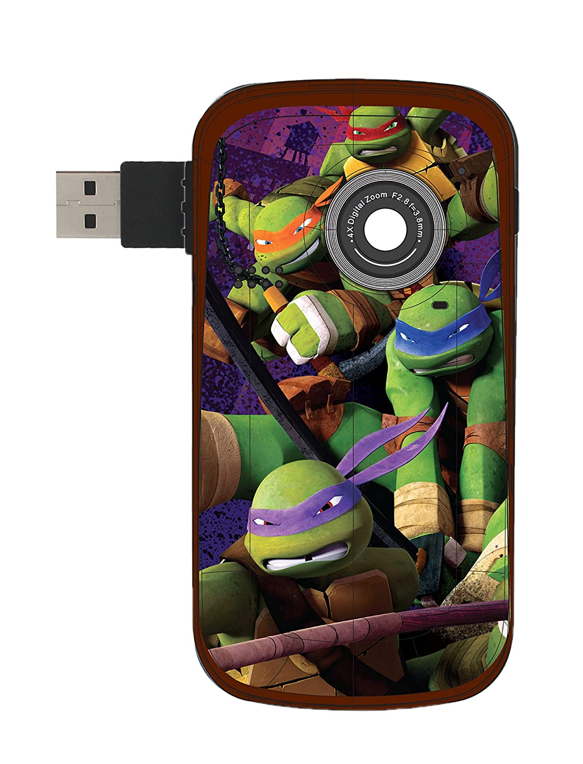 Marvel Teenage Mutant Ninja Turtles Digital Camcorder Sakar International 38065-INT-URT