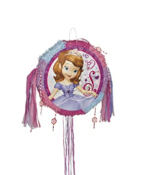 Partido Ênico Disney Sofía el primer tirón de cuerda Piñata ...