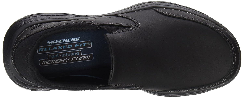 Glides-Calculous, Zapatillas de Entrenamiento para Hombre, Marrón (Dark Brown), 39 EU Skechers