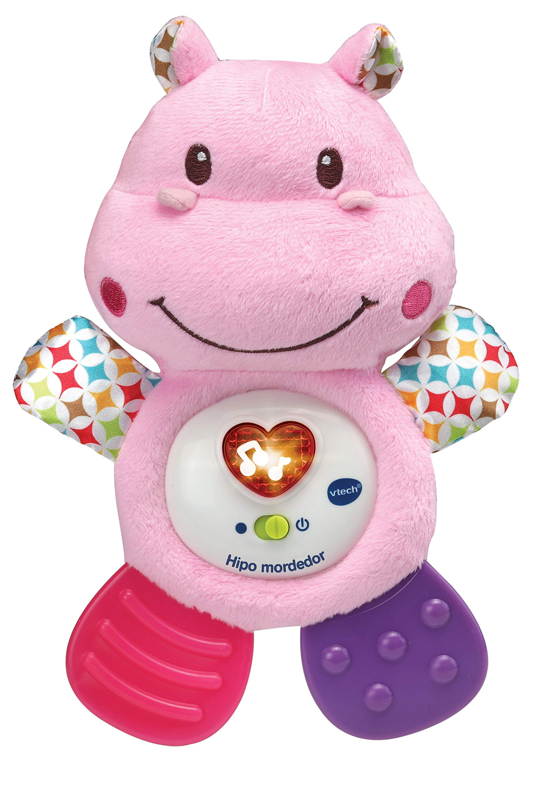 VTech HIPO Baby Crib Teether, Pink (3480-502557)