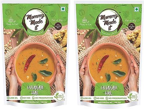 Mami lo ha preparado para comer Readymade Gujarati Dal (Pack de 2 ...