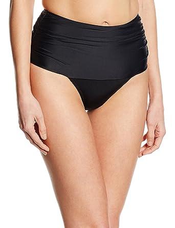 1167bda5df Amazon.com: Pour Moi LBB Control High-Waist Bikini Bottom: Clothing