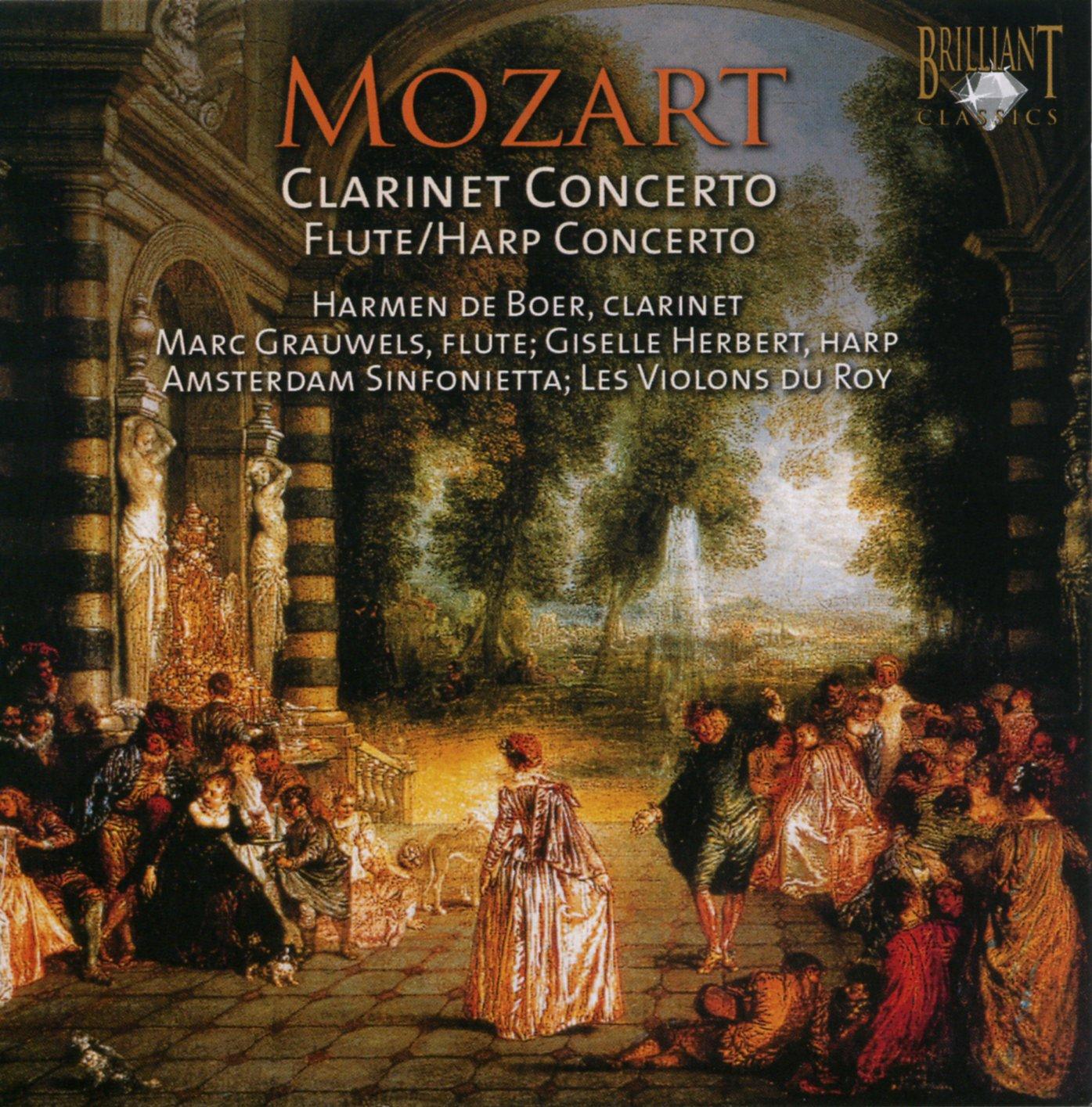 CD : Giselle Herbert - Clarinet Concerto: Flute & Harp Concerto (CD)