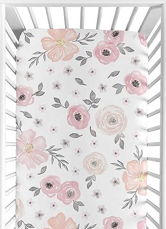 Amazon.com: Sweet Jojo Designs - Sábana bajera ajustable ...