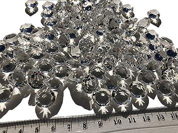 100 Stück 15mm Große Deko Diamanten Brillianten Strasssteine Acryl