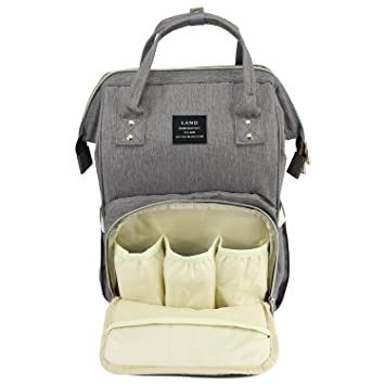 6333b95d4f43 Baby Diaper Bag Large Capacity Mommy Backpack Baby Nappy Tote Bags  Multi-Function Travelling...