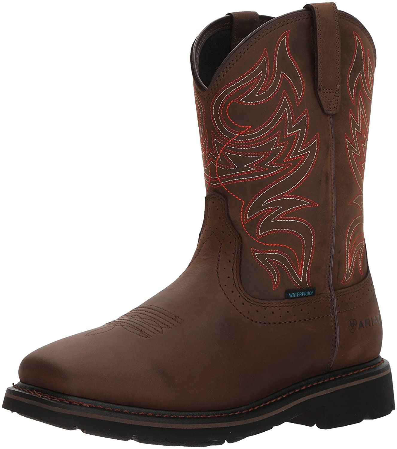Ariat Work メンズ Sierra Delta H2O B076MCRB9K 10 D(M) US|Oily Distressed Brown Oily Distressed Brown 10 D(M) US
